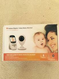 **New** wireless digital video baby monitor