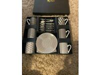 Nippon Black Espresso Gift Set - Set Of 18 Pieces (Tokyo Design Studio)
