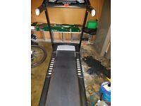 Roger Black fitness gold medal treadmill