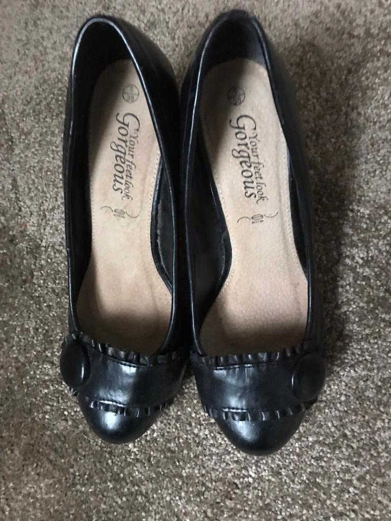 d31bbd5330 NEW LOOK BLACK COURT SHOES SIZE 5 | in Deal, Kent | Gumtree