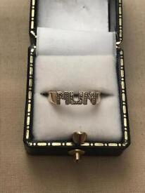 9ct solid gold mum ring 9 ct 9 carat