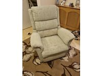 Nearly new electric riser recliner chair