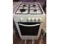 White bush 50cm gas cooker grill & oven good condition with guarantee