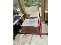 Free Director chair - metal folding almost vintage