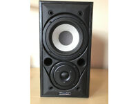 Pair of Mission 700 bookshelf/ stand mounted loudspeakers - black