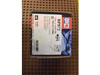 Citroen Saxo brake pads 1.0-1.6, Peugeot 106 1.4 -1.6 & 1.5 D BP827