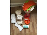 Bamboo reuseable nappy set