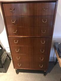 Vintage original G Plan drawers / tallboy