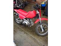 Child's pit bike / dirt bike py90 pw80 copy