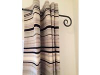 John Lewis Material Short Curtains