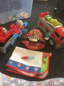 Paw patrol toy bundle