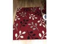 Medium red rug