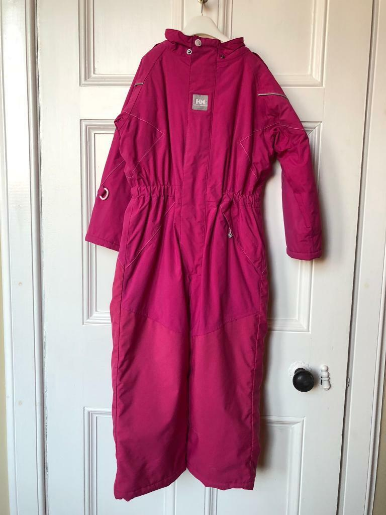 11f349a8fd93 Helly Hansen snow suit for girl age 6