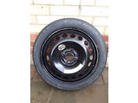 Vauxhall Corsa Space Saver Wheel