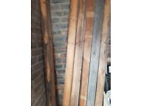 6 Fence Posts For Sale 7ft