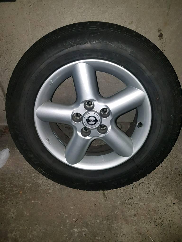 Nissan x trail alloy