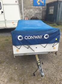 CONWAY TRAILER TENT INCLUDES EVERYTHING NEEDED TO GO CAMPING MORE PICTURES ON REQUEST GRAB A BARGAIN