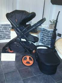 BARGAIN Icandy dc limited edition with carry cot