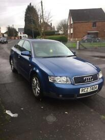 **Audi A4 Full Years Mot £750 Ono**