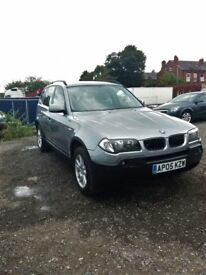 2005 BMW X3 IMACULATE CONDITION 2.0 DIESEL