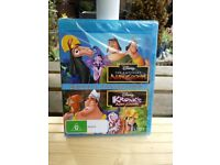 DISNEY BLU RAY EMPERORS NEW GROOVE/KRONKS NEW GROOVE BRAND NEW SEALED ONLY £4.99
