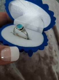 Real sterling silver mako mermaid ring size k/l/m imported .never worn. Ideal Christmas present