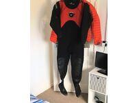 Typhoon dry suit size large