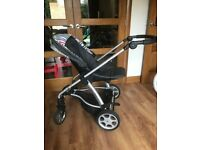 Mamas papas pushchair. Used. Would suit boy or girl. Faces inwards or outwards.