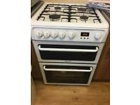 Hotpoint gas cooker HAG60P