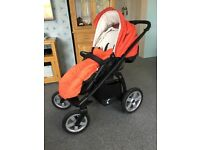 X-Lander X-Move 3 in 1 Travel System - Pram & Pushchair with Be Safe Car Seat