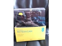 4G EE action camera with waterproof housing