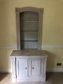 Oak Sideboard x 2, built in cupboards, shelving x 2 available