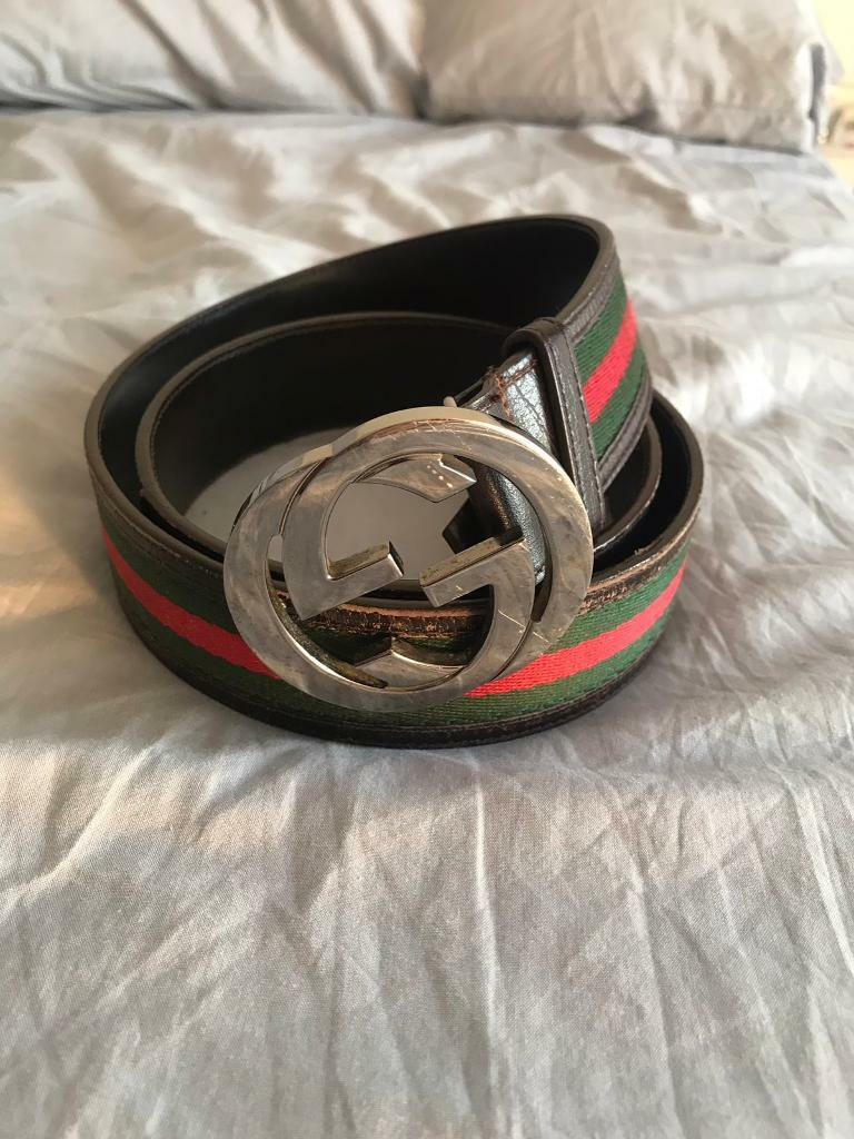 f5b6d0d71 Gucci belt size 95cm (used, see pictured)   in London   Gumtree