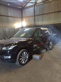 2016 Range Rover sport Hse (unrecorded)