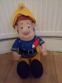 Fireman Sam large plush
