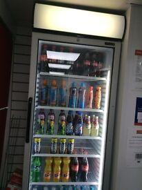 TEFCOLD Upright shop display fridge ONLY £500.00