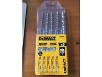 DeWALT Multi-purpose drill bit, set of 5 pieces DT60099