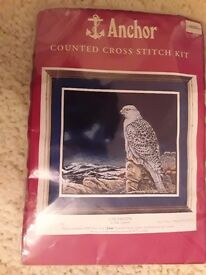 Anchor Cross Stitch Kit.
