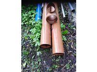 160 mm underground drainage pipe