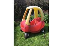 Little Tikes Cosy Coupe FREE!