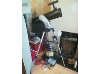 Skywatcher explorer Synscan AZ D=130mm F=650mm coated optics reflector telescope.