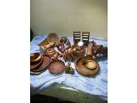 Job lot of wooden items