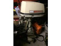 Yamaha 8hp air cooled outboard engine (Spares or repairs)
