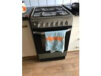 Electric oven with gas hob Indesit I5GSH1(X)