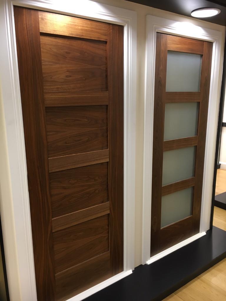 Super sale on shaker 4 panel walnut doors