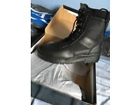 Police/security boots size 9 brand new in box never been worn