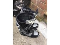 Motorbike boots size 2