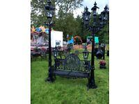 Aluminium garden lights (driveway, garden furniture)