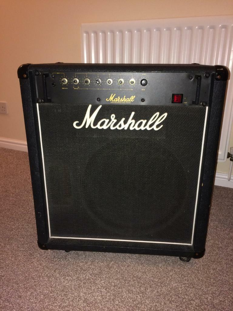 Marshall 100w integrated bass system