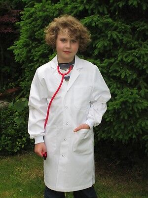 Arztkittel Kinder Größe 134 -140 NEU Forscher Arztmantel Malkittel TOP (Kostüme Bewertungen)